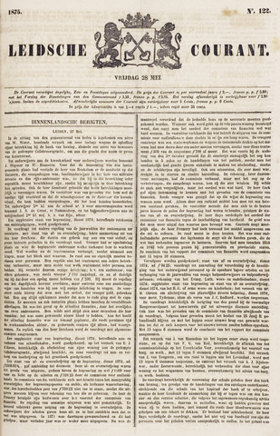 Leydse Courant 1875-05-28