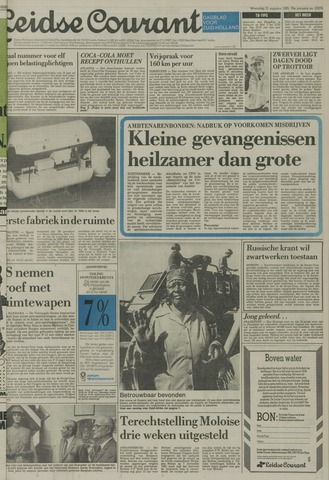 Leidse Courant 1985-08-21