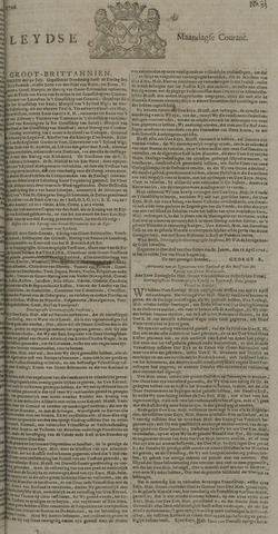 Leydse Courant 1726-08-05