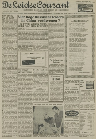 Leidse Courant 1954-10-30