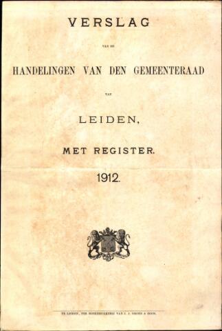 Handelingen van de Raad 1912-01-01