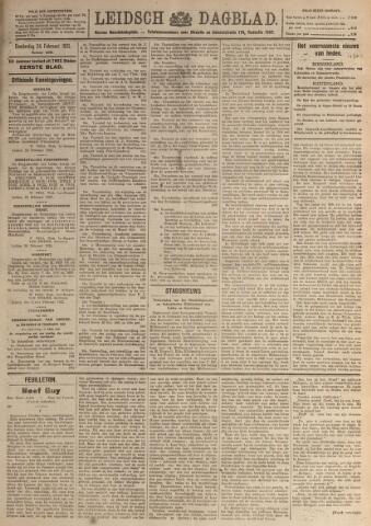 Leidsch Dagblad 1921-02-24