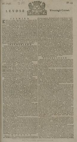 Leydse Courant 1736-04-11