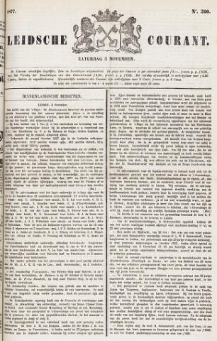 Leydse Courant 1877-11-03
