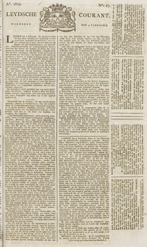 Leydse Courant 1825-02-09