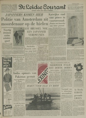 Leidse Courant 1965-09-03