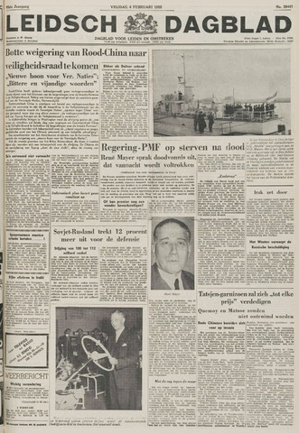 Leidsch Dagblad 1955-02-04
