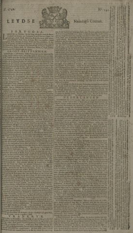Leydse Courant 1740-11-21