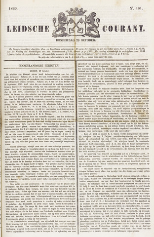 Leydse Courant 1869-10-28