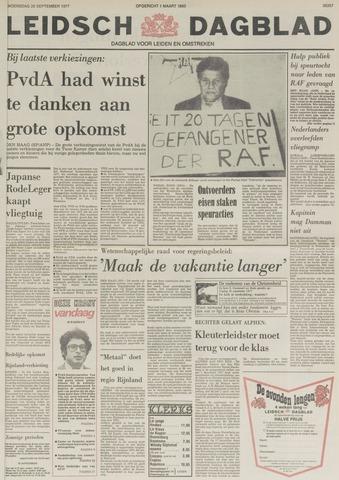 Leidsch Dagblad 1977-09-28