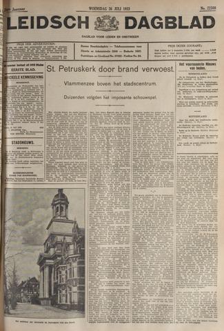 Leidsch Dagblad 1933-07-26