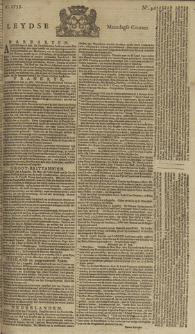 Leydse Courant 1755-08-11