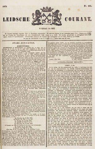 Leydse Courant 1875-05-14