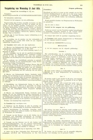 Handelingen van de Raad 1934-06-13