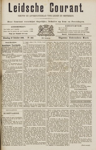 Leydse Courant 1885-10-27