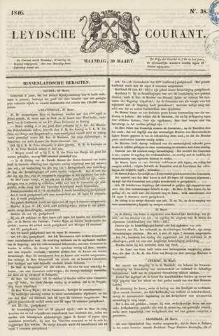 Leydse Courant 1846-03-30