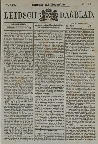 Leidsch Dagblad 1880-11-23