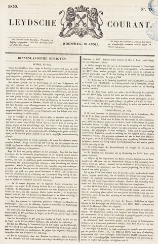Leydse Courant 1850-06-26