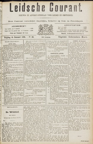 Leydse Courant 1890-01-31