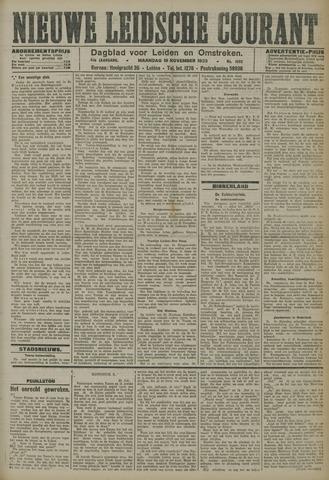 Nieuwe Leidsche Courant 1923-11-19