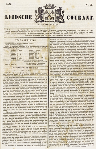 Leydse Courant 1871-03-25