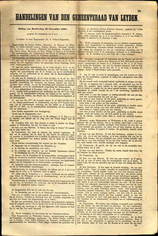 Handelingen van de Raad 1862-11-20