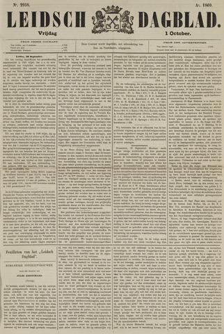 Leidsch Dagblad 1869-10-01