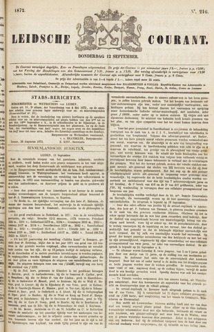 Leydse Courant 1872-09-12