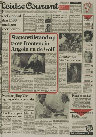 Leidse Courant 1988-08-09