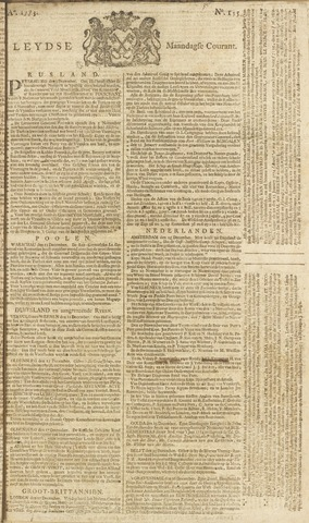 Leydse Courant 1773-12-27