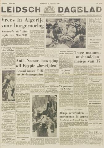 Leidsch Dagblad 1962-08-29