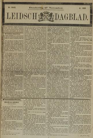 Leidsch Dagblad 1890-11-27