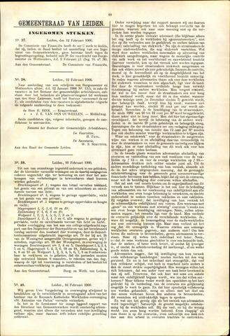 Handelingen van de Raad 1906-02-12