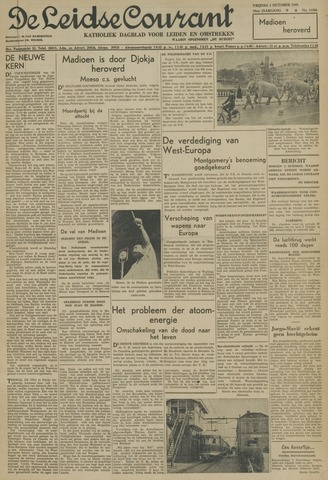 Leidse Courant 1948-10-01