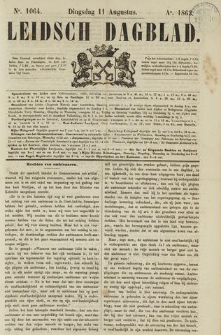 Leidsch Dagblad 1863-08-11