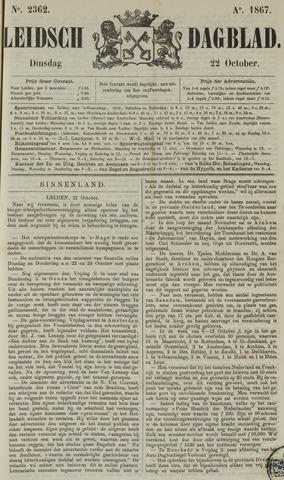 Leidsch Dagblad 1867-10-22