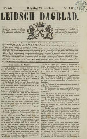 Leidsch Dagblad 1861-10-29