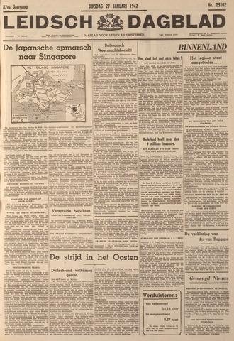 Leidsch Dagblad 1942-01-27