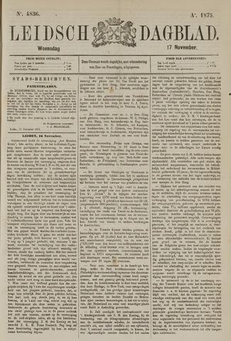 Leidsch Dagblad 1875-11-17