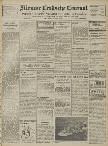 Nieuwe Leidsche Courant 1938-06-11