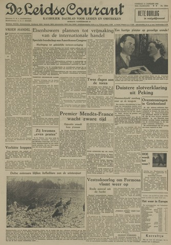 Leidse Courant 1955-01-11