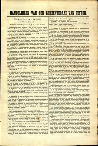 Handelingen van de Raad 1866-04-12
