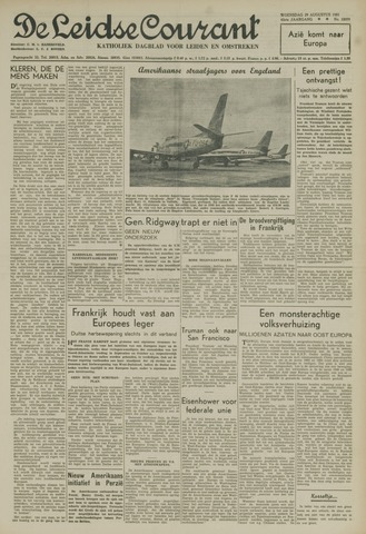 Leidse Courant 1951-08-29
