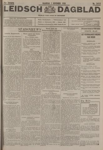 Leidsch Dagblad 1938-11-07