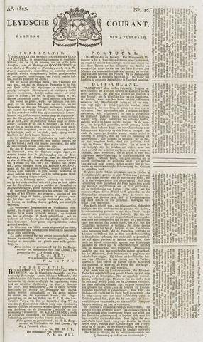 Leydse Courant 1825-02-07