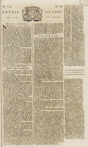 Leydse Courant 1814-10-07