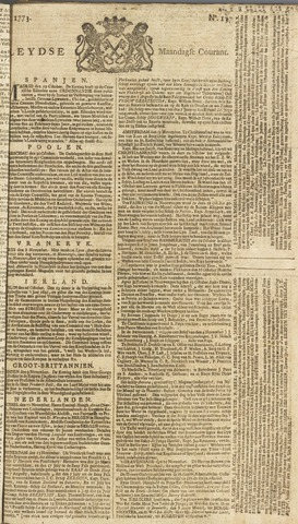 Leydse Courant 1773-11-15