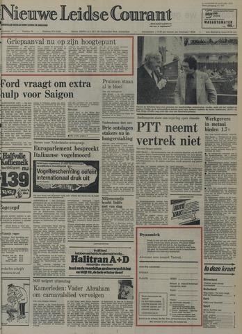 Nieuwe Leidsche Courant 1975-01-22