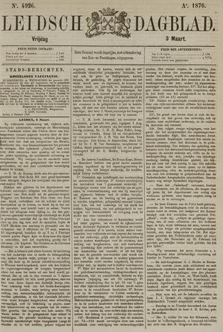 Leidsch Dagblad 1876-03-03