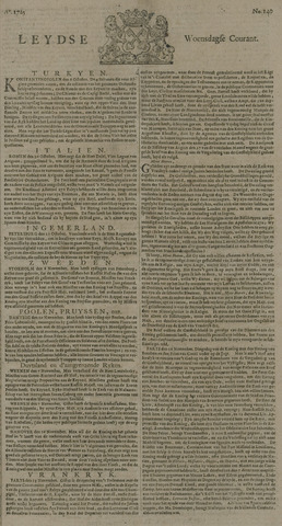 Leydse Courant 1725-11-21